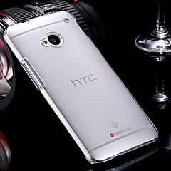 Transparent Hard PC Case for HTC One M7