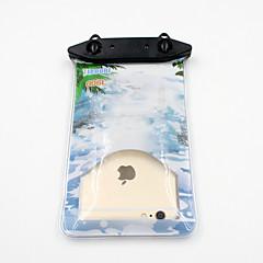 Universal 6 Inch Cartoon PVC Waterproof Phone Case 10 Meters Underwater Phone Bag Pouch Dry No.006 (All Models)