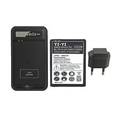 3800 - LG - LG G3 - 교체 용 배터리 - G3BB - 네 - 미국/유럽