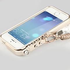 alumínio moda proteger caso moldura para iphone5 / s