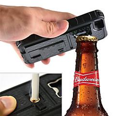 Multifunctional Cigarette Lighter Cover bottle Opener Camera Stable Tripod Case for iPhone 5/5s