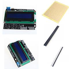 1602 blindage du clavier LCD et d'accessoires pour Arduino