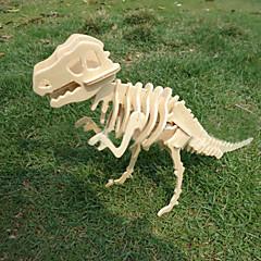 Wooden DIY 3 D Model Of The Tyrannosaurus Rex