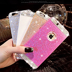 Diamond Shining Glitter Cover Case with Back Hole for iPhone 4/4S(Assorted Colors)