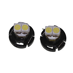 T4.2 Car Truck & Trailer Motorcycle White 0.5W SMD 3528 6500-7000Instrument Light Reading Light Side Marker Light Turn Signal Light LED