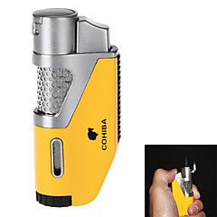 High-Grade Titanium Material Windproof Inflatable Flame Lighter