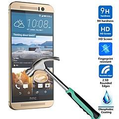 Huyshe installer facile contre l'eau anti-rayures anti-empreintes digitales trempé protecteur d'écran de verre pour HTC One M9