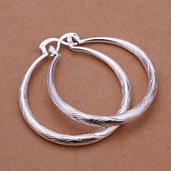 Bruiloft/Feest/Dagelijks/Causaal - Druppel oorbellen ( Sterling zilver , Zilver )