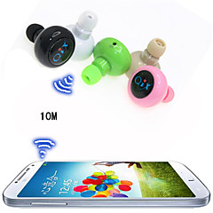 Wireless Sport Headset Anti-Radiation Mini Stereo Bluetooth In-Ear Earphone for iPhone 6/6plus S6(Assorted Color)