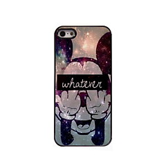 iPhone 5/5S iPhone - Per retro - per Pop art/Cartone animato/Metallica/Design/Altro/Innovativa ( Multicolore , Metallo/ABS/Plastica )