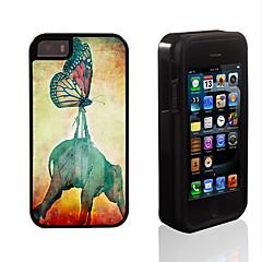 voler ensemble conception 2 en 1 armure hybride complet du corps à double couche choc protecteur mince affaire pour iPhone 5 / 5s