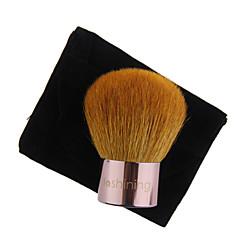 Lashining Professional Large Powder Kabuki Brush For Face Beauty Makeup Tool Gift One Black Flannelette