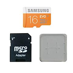 삼성 16 기가 바이트의 CLASS10 40m / s의 TF 메모리 카드 및 메모리 카드와 메모리 카드 어댑터 박스
