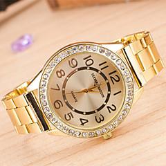 montres europe des hommes et la tendance majeure de l'alliage de costume montre diamant quartzwatch