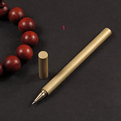Fashion Retro Copper Multi-Function Outdoor Self-Defense Tactical Pen