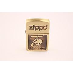 logo classique anniversaire zippo75 butane or léger