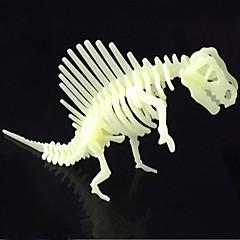 직소 퍼즐 3D퍼즐 빌딩 블록 DIY 장난감 공룡 ABS 크리스탈 모델 & 조립 장난감