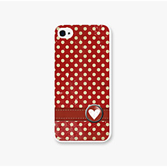 Dot Pattern PC Back Case for iPhone5/5s