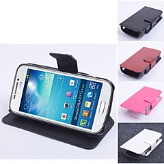 Protective PU Leather Magnetic Vertical Flip Case for Sansumg Galaxy S4 Zoom/C101(Assorted Colors)