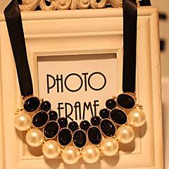 Pearl/Alloy/Zircon Necklace Choker Necklaces/Vintage Necklaces Wedding/Party/Daily/Casual 1pc
