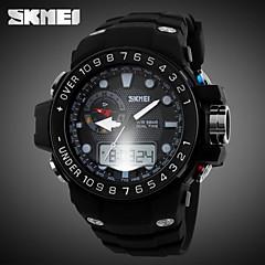 Jam Tangan Sukan (LCD/Kalendar/Kronograf/Tahan Air/Dua Zon Masa/penggera) - Lelaki - Analog-Digital
