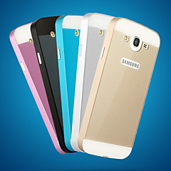 Metal Frame Acrylic Mirror Backplane Metal Hard Case for Samsung Galaxy Mega 5.8 I9150 I9152  (Assorted Colors)