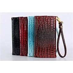 5.5 Inch Crocodile Leather Wallet Universal for Iphone6 Plus/Iphone6/5/5s/4/4s(Assorted Color)