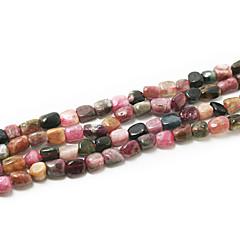 """cuentas de piedra turmalina beadia 5-8mm forma irregular perlas sueltas DIY para hacer la pulsera del collar 15 """"/str(apx.65pcs)"""