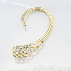 Diamond Wing Alloy Earring Ear Cuffs Wedding/Party/Daily/Casual 1pc