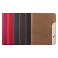 9.7 Inch Ultrathin Pattern Genuine Leather Case with Stand for iPad 2/3/4(Assorted Colors)