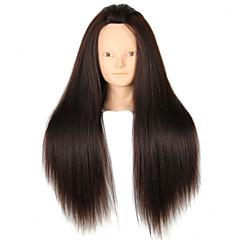 yaki synthetische kapsalon vrouwelijke mannequin hoofd geen make-up