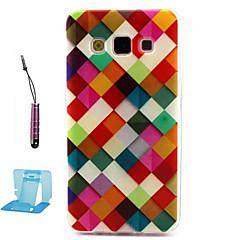 Για Samsung Galaxy Θήκη Με σχέδια tok Πίσω Κάλυμμα tok Γεωμετρικά σχήματα TPU Samsung A3
