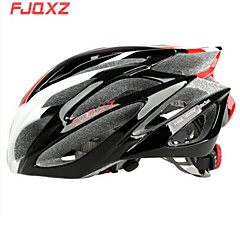 FJQXZ integreret formstøbte EPS + PC Red and White cykelhjelme (21 Vents)