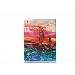 öljymaalaus pu nahka koko kehon tpu tapauksessa kortin haltijan iPad 2 / iPad 3 / iPad 4