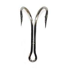 20PCS Size 2/0 High Carbon Steel Sharp Double Hook