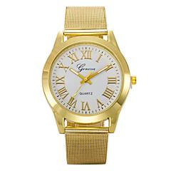 رجال ساعة المعصم كوارتز ساعة رياضية أشابة فرقة ذهبي Brand-