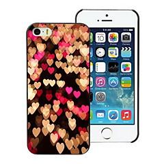 caso duro di disegno del cuore per il iphone 5 / 5s