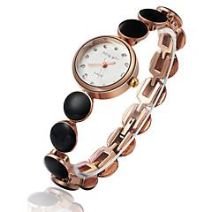 stile alla moda orologio da polso al quarzo analogico lega delle donne