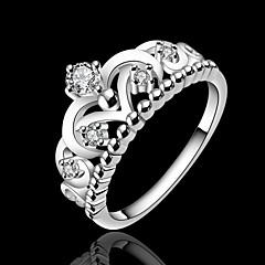 Массивные кольца ( Серебрянное покрытие ) - Свадьба/Для вечеринок/Повседневные/Спорт