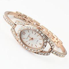 Dames Modieus horloge Kwarts Legering Band Glitter / Bedeltjes Goud Rose Merk-