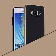 Na Samsung Galaxy Etui Galwanizowane Kılıf Etui na tył Kılıf Jeden kolor Silikon Samsung A8 / A7 / A5 / A3
