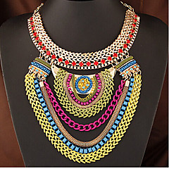 Cusa Europe Fashion Metal Chain  Necklace