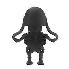 Krystal Menneskelige Skelet USB 2.0 Nok Hukommelse Stick Flash pind 16Gb
