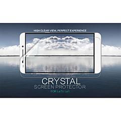 cristal nillkin filme protetor de tela anti-impressão digital clara para LeTV le1