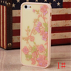 Phone Back Case for iPhone 4 Ultra Soft PC+ABS Painted Sweet Pattern Case Cover Skin Case for iphone 4s