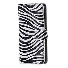 For Samsung Galaxy Note Kortholder Pung Med stativ Flip Etui Heldækkende Etui Linjeret / bølget Kunstlæder for SamsungNote 5 Edge Note 5