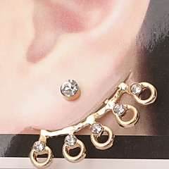 Women Wedding Series 6 Stud Earrings Wedding/Party/Daily/Casual 1pc