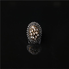 The Last Fashion Brighton Crystal/Alloy/Gold Plated Ring The Punk Style Band Rings Wedding/Party/Casual 1pc