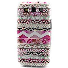 Für Samsung Galaxy Hülle Muster Hülle Rückseitenabdeckung Hülle Geometrische Muster TPU SamsungS6 edge / S6 / S5 Mini / S5 / S4 Mini / S4