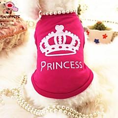 Verano - Rosa - Boda / Cosplay - Terylene - Camiseta - Perros / Gatos - XS / S / M / L
